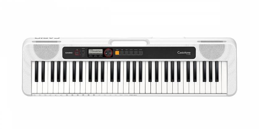 Casio CTS200WE 61-Key Portable Keyboard w/ Chordana App 400 Tones - White cts-200-we Product Image