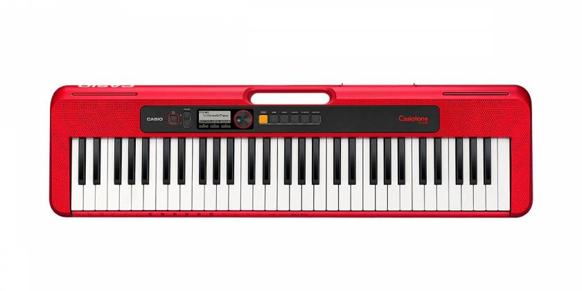 Casio CTS200RD 61-Key Portable Keyboard w/ Chordana App 400 Tones - Red cts-200-rd Product Image