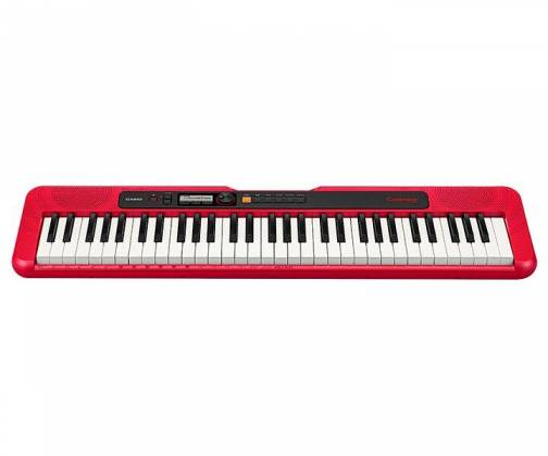 Casio CTS200RD 61-Key Portable Keyboard w/ Chordana App 400 Tones - Red cts-200-rd Product Image 4