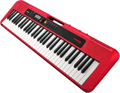 Casio CTS200RD 61-Key Portable Keyboard w/ Chordana App 400 Tones - Red cts-200-rd Product Image 2