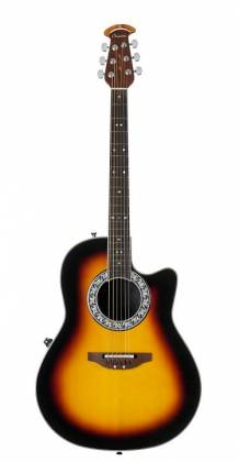 Ovation 1771VL-1 GC Signature Legend Collection Glen Campbell 6-String RH Acoustic Electric Guitar with Gigbag-Mid Depth Sunburst Product Image 7