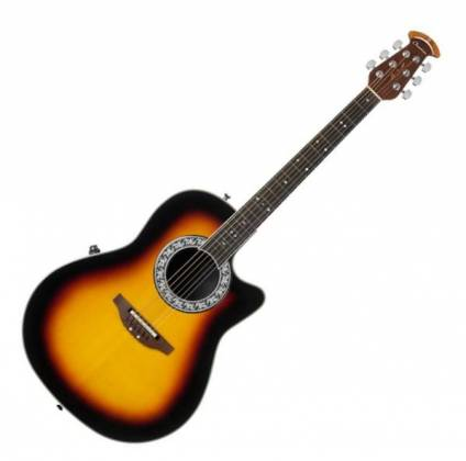 Ovation 1771VL-1 GC Signature Legend Collection Glen Campbell 6-String RH Acoustic Electric Guitar with Gigbag-Mid Depth Sunburst Product Image