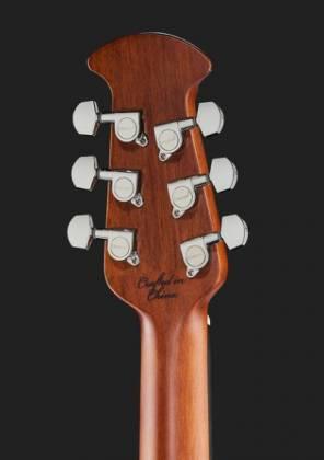 Ovation CE44-RRB Celebrity Elite Mid Depth 6-String RH Acoustic Electric Guitar-Reverse Red Burst ce-44-rrb Product Image 8