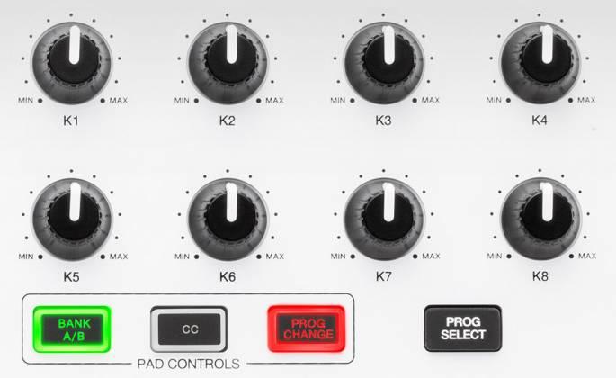 Akai MPKMINI2WHITE Limited Edition 25 Key Portable USB MIDI Keyboard Product Image 3