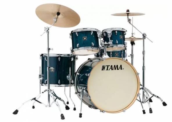 Tama CL52-KS PGHP Superstar Classic 5-piece Shell Pack-Gloss Sapphire Lacebark Pine Product Image