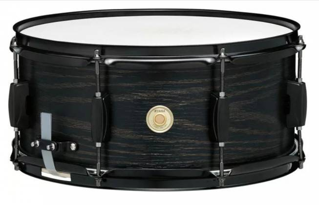 "Tama WP1465BK-BOW Woodworks 6.5"" x 14"" Snare Drum-Black Oak Wrap Product Image 2"