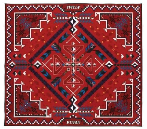 Tama TDR-SW Drum Rug-Southwestern Pattern Product Image