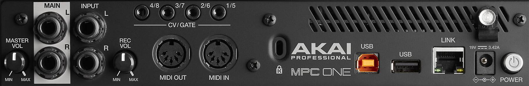 Akai MPC One Standalone Music Production Center mpc-one-x-us Product Image 6