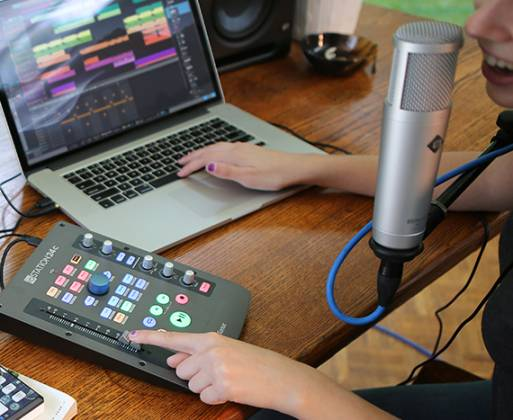Presonus IOStation-24 C 2x2 USB-C Compatible Audio Interface and Production Controller Product Image 4