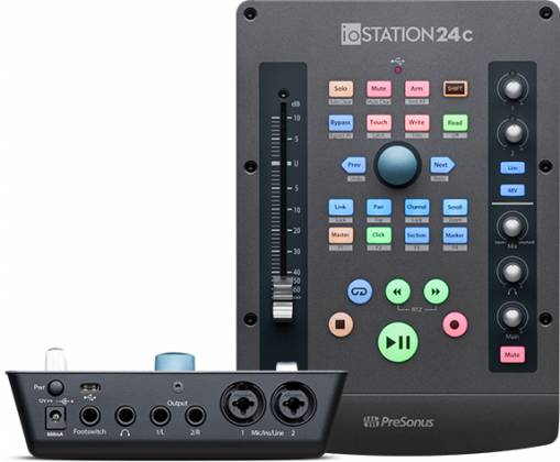 Presonus IOStation-24 C 2x2 USB-C Compatible Audio Interface and Production Controller Product Image 2