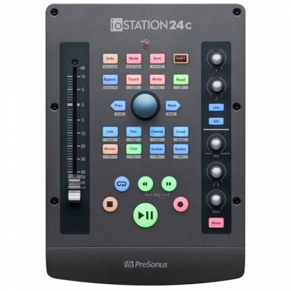 Presonus IOStation-24 C 2x2 USB-C Compatible Audio Interface and Production Controller Product Image