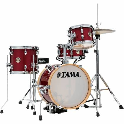 Tama LJK44H4-CPM 4-Piece Club-Jam Flyer Drum Kit with Hardware-Candy Apple Mist Product Image