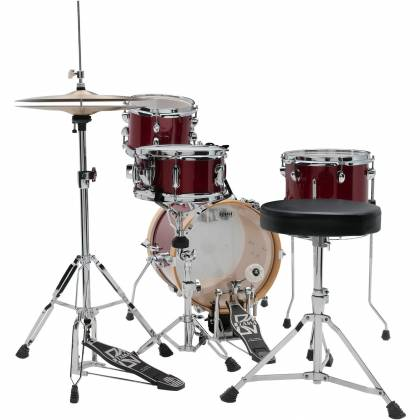 Tama LJK44H4-CPM 4-Piece Club-Jam Flyer Drum Kit with Hardware-Candy Apple Mist Product Image 10