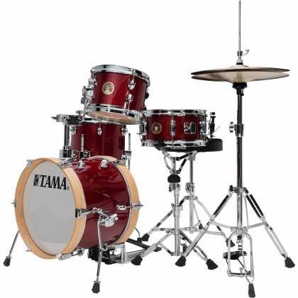 Tama LJK44H4-CPM 4-Piece Club-Jam Flyer Drum Kit with Hardware-Candy Apple Mist Product Image 9