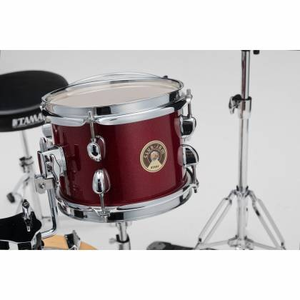 Tama LJK44H4-CPM 4-Piece Club-Jam Flyer Drum Kit with Hardware-Candy Apple Mist Product Image 8
