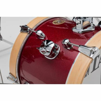 Tama LJK44H4-CPM 4-Piece Club-Jam Flyer Drum Kit with Hardware-Candy Apple Mist Product Image 7