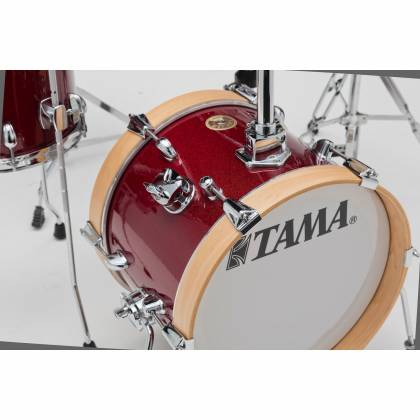 Tama LJK44H4-CPM 4-Piece Club-Jam Flyer Drum Kit with Hardware-Candy Apple Mist Product Image 6