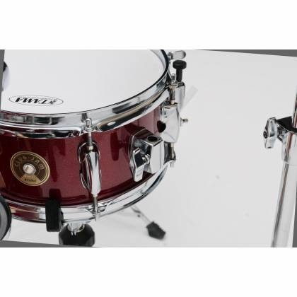 Tama LJK44H4-CPM 4-Piece Club-Jam Flyer Drum Kit with Hardware-Candy Apple Mist Product Image 5