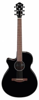 Ibanez AEG50LBKH Single Cutaway 6-String LH Acoustic Electric Guitar-Black High Gloss aeg-50-l-bkh Product Image 2
