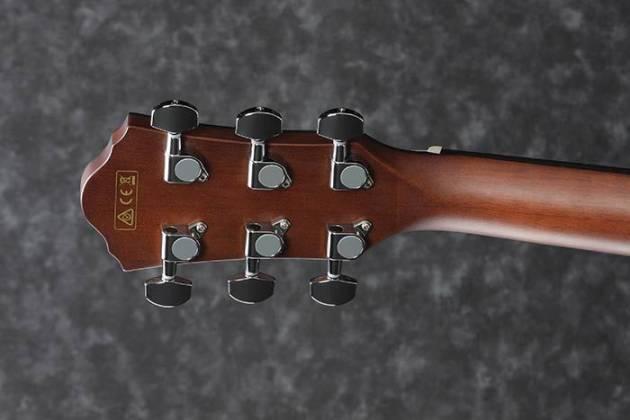Ibanez AEG50LBKH Single Cutaway 6-String LH Acoustic Electric Guitar-Black High Gloss aeg-50-l-bkh Product Image 6