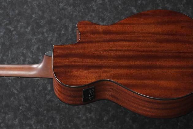Ibanez AEG50LBKH Single Cutaway 6-String LH Acoustic Electric Guitar-Black High Gloss aeg-50-l-bkh Product Image 5