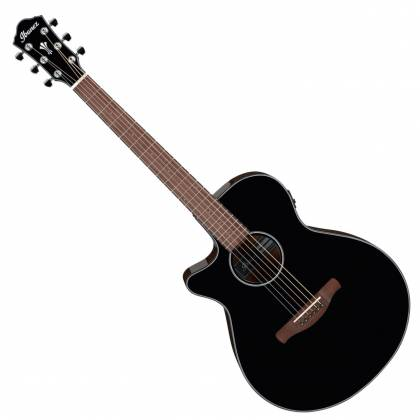 Ibanez AEG50LBKH Single Cutaway 6-String LH Acoustic Electric Guitar-Black High Gloss aeg-50-l-bkh Product Image