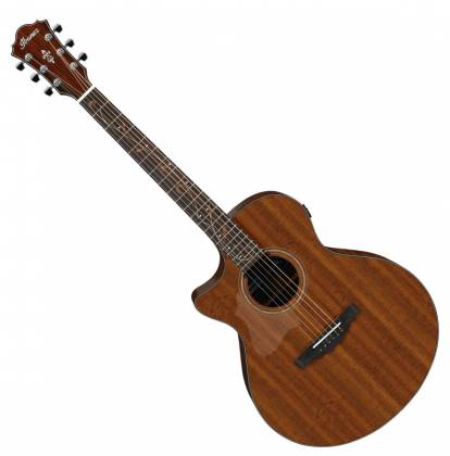 Ibanez AE295LLGS AE Series 6-String LH Acoustic Electric Guitar-Natural Low Gloss ae-295-l-lgs Product Image