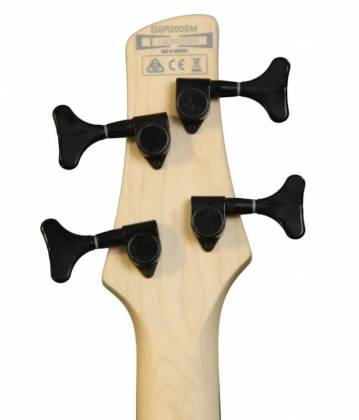 Ibanez GSR200SMNGT Soundgear Series GIO 4-String RH Electric Bass-Natural Gray Burst gsr-200-sm-ngt Product Image 4