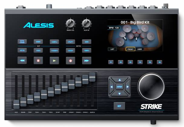 Alesis STRIKEMODULEBUNXUS Performance Drum Module with 4.3-inch Color Display Product Image 9