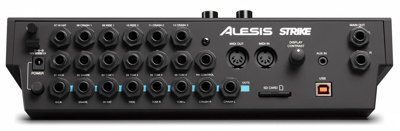 Alesis STRIKEMODULEBUNXUS Performance Drum Module with 4.3-inch Color Display Product Image 8