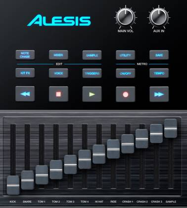Alesis STRIKEMODULEBUNXUS Performance Drum Module with 4.3-inch Color Display Product Image 3