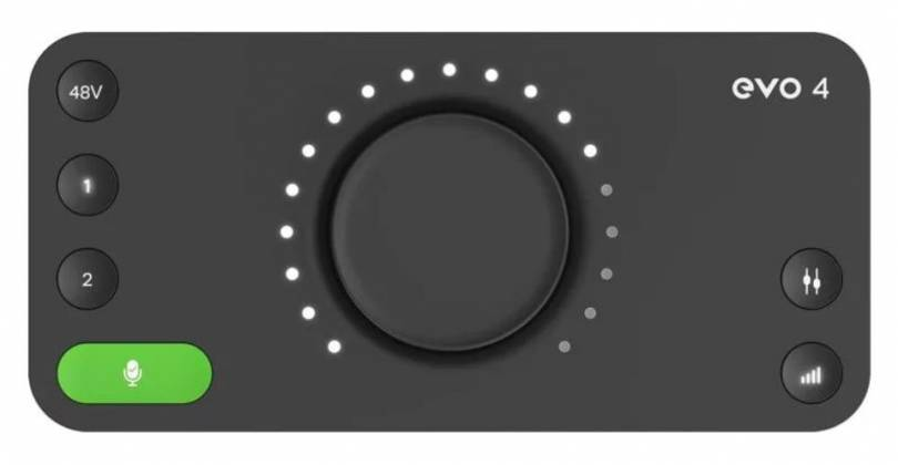 Audient Evo4 2-In/2-Out Audio Interface evo-4 Product Image