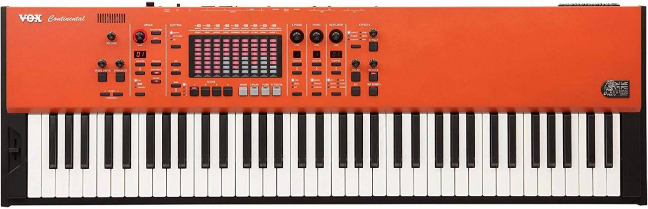 Vox CONTINENTAL61 61-key Performance Keyboard with pedal CONTINENTAL-61 Product Image 5