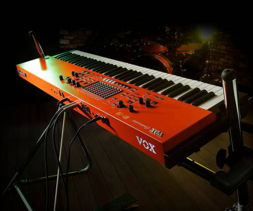 Vox CONTINENTAL61 61-key Performance Keyboard with pedal CONTINENTAL-61 Product Image 3