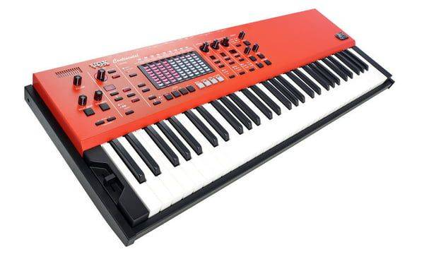 Vox CONTINENTAL61 61-key Performance Keyboard with pedal CONTINENTAL-61 Product Image