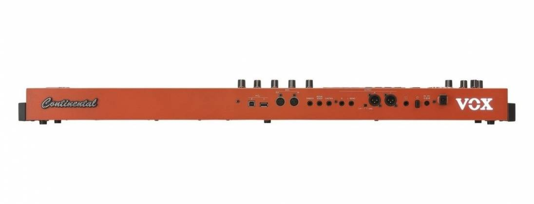 Vox CONTINENTAL61 61-key Performance Keyboard with pedal CONTINENTAL-61 Product Image 2