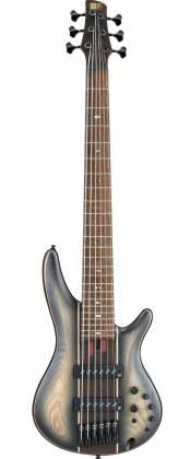 Ibanez SR1346B-DWF Soundgear SR Premium 6-String RH Electric Bass with Gigbag-Dual Shadow Burst Flat SR-1346-B-DWF Product Image 2