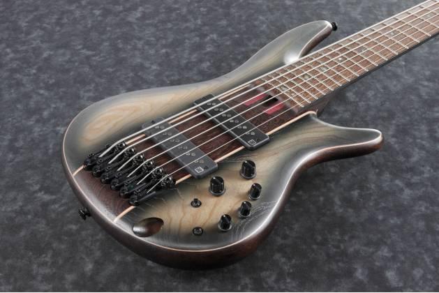 Ibanez SR1346B-DWF Soundgear SR Premium 6-String RH Electric Bass with Gigbag-Dual Shadow Burst Flat SR-1346-B-DWF Product Image 4