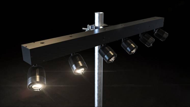 Chauvet DJ PINSPOT-BAR Compact LED Spotlight pinspot-bar Product Image 5