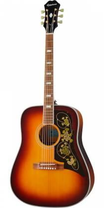 Epiphone EMFTTAGH Masterbilt Frontier 6-String RH Acoustic Electric Guitar–Trans Amber EMFT-TA-GH Product Image 3