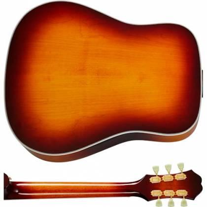 Epiphone EMFTTAGH Masterbilt Frontier 6-String RH Acoustic Electric Guitar–Trans Amber EMFT-TA-GH Product Image 2