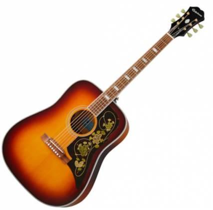 Epiphone EMFTTAGH Masterbilt Frontier 6-String RH Acoustic Electric Guitar–Trans Amber EMFT-TA-GH Product Image