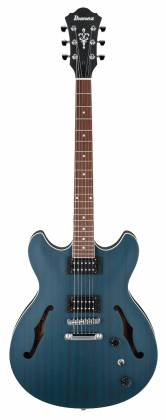 Ibanez AS53-TBF Artcore 6-String RH Hollowbody Electric Guitar-Transparent Blue Flat AS-53-TBF Product Image 2
