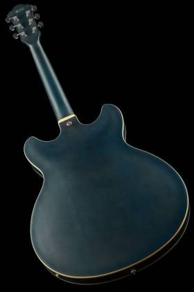 Ibanez AS53-TBF Artcore 6-String RH Hollowbody Electric Guitar-Transparent Blue Flat AS-53-TBF Product Image 3