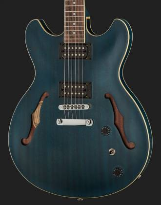 Ibanez AS53-TBF Artcore 6-String RH Hollowbody Electric Guitar-Transparent Blue Flat AS-53-TBF Product Image 12
