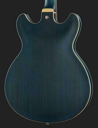 Ibanez AS53-TBF Artcore 6-String RH Hollowbody Electric Guitar-Transparent Blue Flat AS-53-TBF Product Image 11