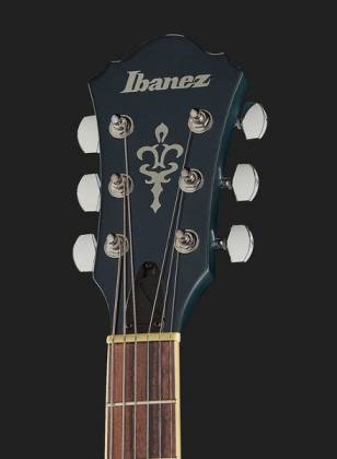 Ibanez AS53-TBF Artcore 6-String RH Hollowbody Electric Guitar-Transparent Blue Flat AS-53-TBF Product Image 10
