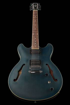 Ibanez AS53-TBF Artcore 6-String RH Hollowbody Electric Guitar-Transparent Blue Flat AS-53-TBF Product Image 8