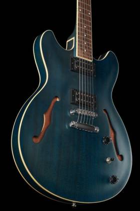 Ibanez AS53-TBF Artcore 6-String RH Hollowbody Electric Guitar-Transparent Blue Flat AS-53-TBF Product Image 6