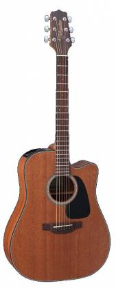 Takamine GD11MCE-NS G Series Dreadnought 6-String RH Acoustic Electric Guitar-Natural Satin Product Image 7